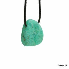 Chrysoprase pendentif pierre