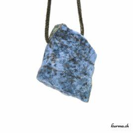 Dumortiérite – Pendentif pierre percée – N°7375.3