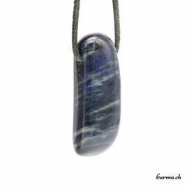 Dumortiérite pendentif pierre
