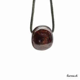 Grenat pendentif pierre
