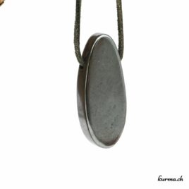 Hématite- Pendentif pierre percée – N°7170.1