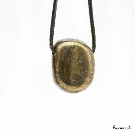 Chalcopyrite pendentif pierre