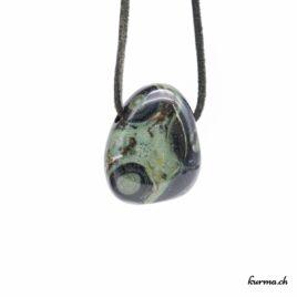 Eldarite kambaba pendentif pierre percée