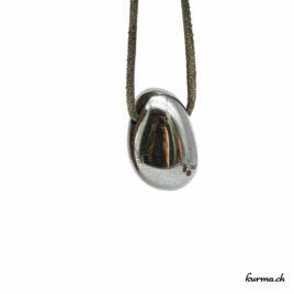 Hématite- Pendentif pierre percée – N°5305.1