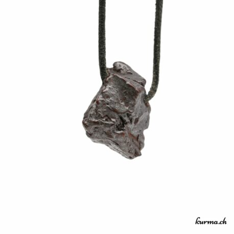 Météorite pendentif pierre percée