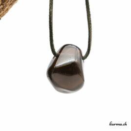 Obsidienne larmes d'Apache – Pendentif – N°8455.5