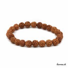 Bracelet en rudraksha 7mm