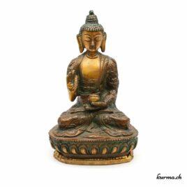 Statue de Bouddha Shakyamuni bronze 15cm