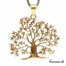 Pendentif arbre de vie en laiton